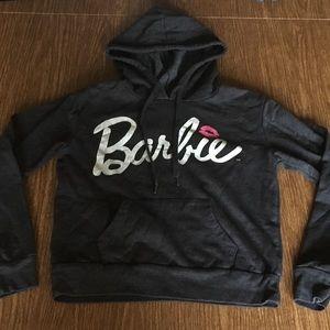 Barbie Cropped Sweatshirt (Size Small)